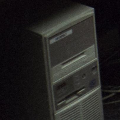 catapult DEC PC under Dave's desk